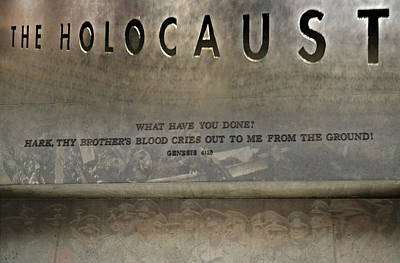 Photograph - Holocaust by Timothy Lowry
