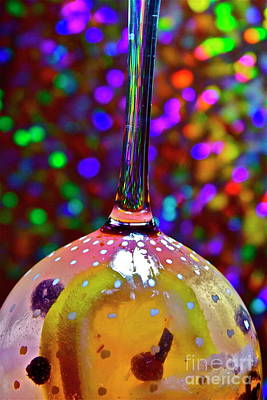 Photograph - Holographic Fruit Drop by Xn Tyler