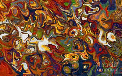 Michael C Geraghty Digital Art - Holographic Reaction No2 - Amcg20161222 by Michael Geraghty