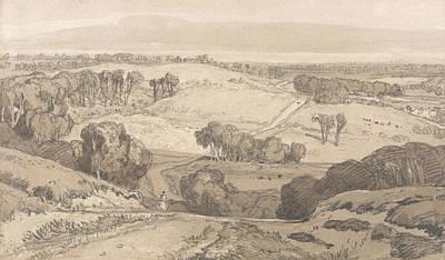 Drawing - Holt Heath, Near Norwich by John Sell Cotman
