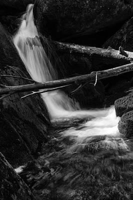 Photograph - Holtemme, Harz - Monochrome Version by Andreas Levi