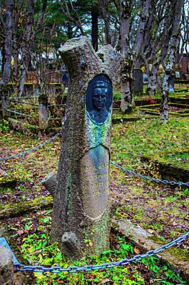 Photograph - Holvallagardur Cemetery Reykjavik 12 by Deborah Smolinske