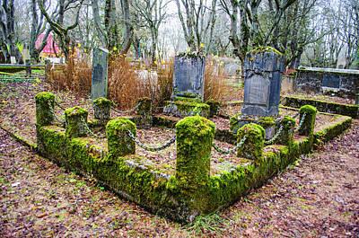 Photograph - Holvallagardur Cemetery Reykjavik 4 by Deborah Smolinske