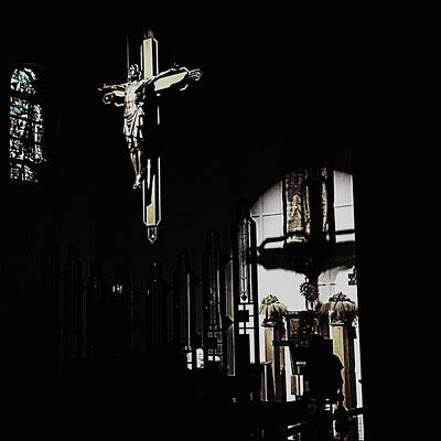 Photograph - Holy Adoration by Frank J Casella