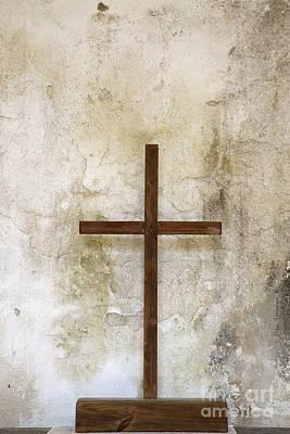 Photograph - Holy And Sacred Cross by John Stephens