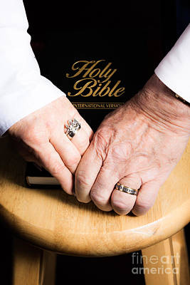 Photograph - Holy Bible by Lawrence Burry