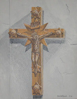 Painting - Holy Cross by Edward Maldonado