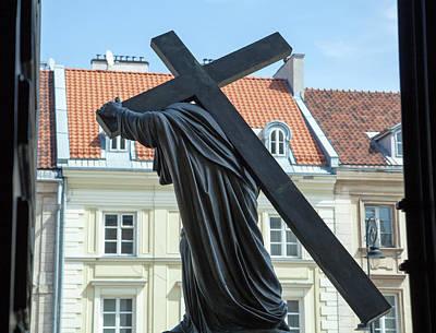 Photograph - Holy Cross  by Ramunas Bruzas
