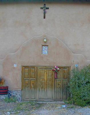 Holy Door Art Print by Joseph R Luciano