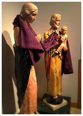 Case Photograph - Holy Family - Lent by Frank J Casella