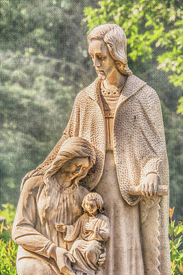 Photograph - Holy Family by Pamela Williams