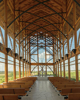 Photograph - Holy Family Shrine Interior by Susan Rissi Tregoning