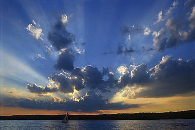 Water Photograph - Holy Grail - Lake Geneva Wisconsin by Bruce Thompson