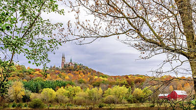 Photograph - Holy Hill Colors by Randy Scherkenbach