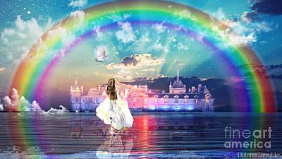 Digital Art - Holy Hope by Dolores Develde
