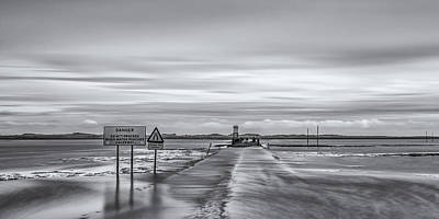 Photograph - Holy Island Causeway by David Pringle