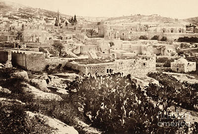 Photograph - Holy Land, Nazareth, C1860.  by Granger