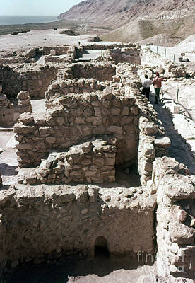 Photograph - Holy Land: Qumran Ruins by Granger