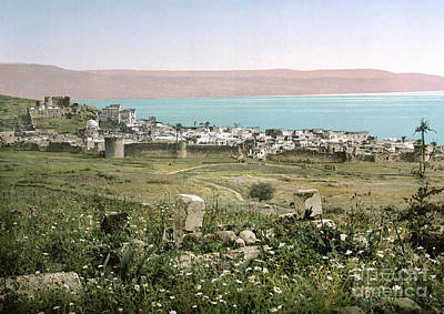Photograph - Holy Land: Tiberias by Granger