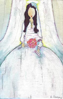 Holy Mama Art Print by Ricky Sencion