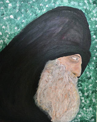 Holy Man 1 Original by Nadine Walther