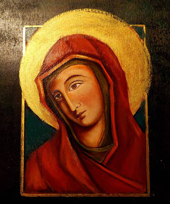 Painting - Holy Mary by Irena Mohr