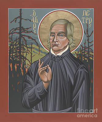 Painting - Holy Missionary Peter De Smet 207 by William Hart McNichols