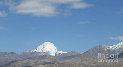 Holy Mount Kailash, Tibet Art Print