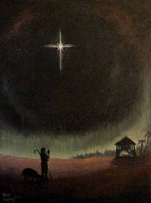 Painting - Holy Night by Dan Wagner
