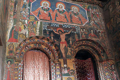 Religious Art Photograph - Holy Of Holies, Debre Birhan Selassie Church by Aidan Moran