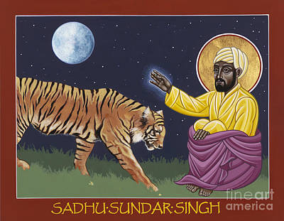 Painting - Holy Sadhu Sundar Singh 189 by William Hart McNichols