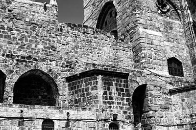 Photograph - Holy Sepulchre Brick by John Rizzuto