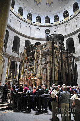 Sepulchre Photograph - Holy Sepulchre  by Shay Levy