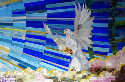 Photograph - Holy Spirit Dove by Cindy D Chinn