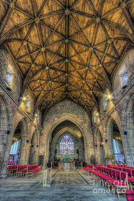 Medieval Temple Photograph - Holy Spirit by Ian Mitchell