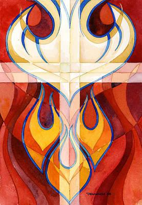 Holy Spirit Art Print by Mark Jennings