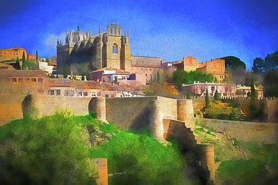 Digital Art - Holy Toledo by Dennis Cox Photo Explorer