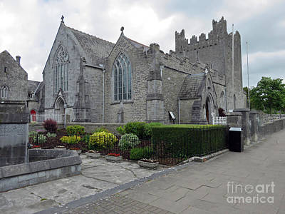 Photograph - Holy Trinity Abby Church Adare by Cindy Murphy - NightVisions