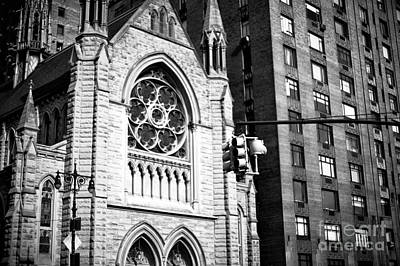 Photograph - Holy Trinity Lutheran Church by John Rizzuto