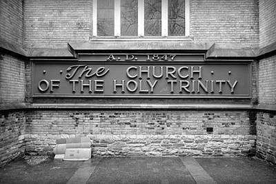 Photograph - Holy Trinity by Valentino Visentini