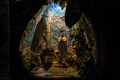 Photograph - Holy Virgin Mary Grotto by James BO Insogna