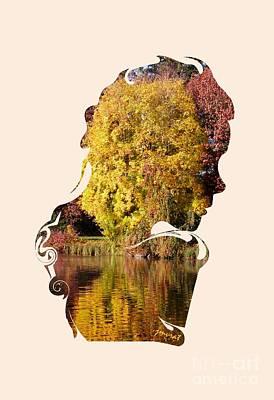 Hommage Digital Art - Extraordinary Homage Mother Earth by Johannes Murat