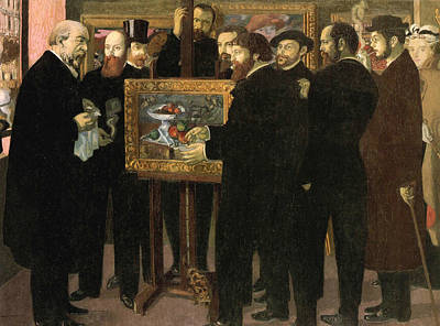 Painting - Homage To Cezanne by Maurice Denis