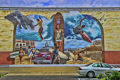 Photograph - Homage To Duke Kahanamoku And Ocean City by Allen Beatty