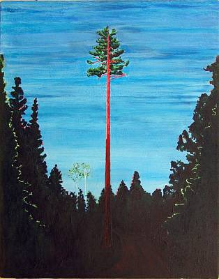 Painting - Homage To Emily Carr by Susan M Woods