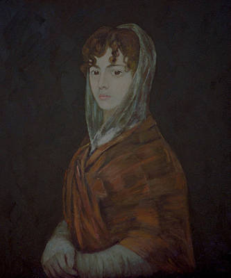 Painting - homage to Goya by Masami Iida