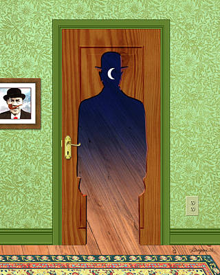 Painting - Homage To Magritte by Gary Grayson