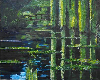 Painting - Homage To Monet by Jack Riddle