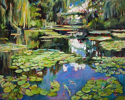 Homage To Monet Original