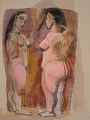 Homage To Pablo Art Print by Noredin Morgan